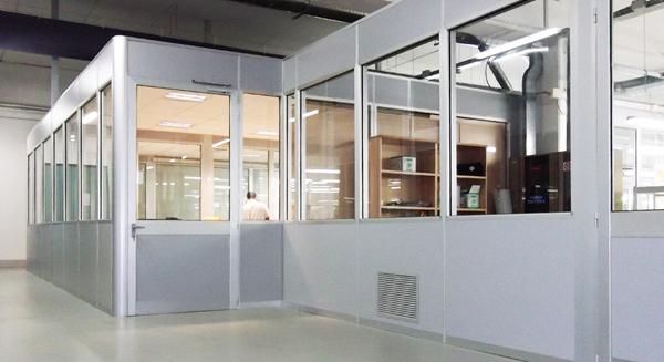 Realizzazione di box ufficio for Lavoro arredatore d interni